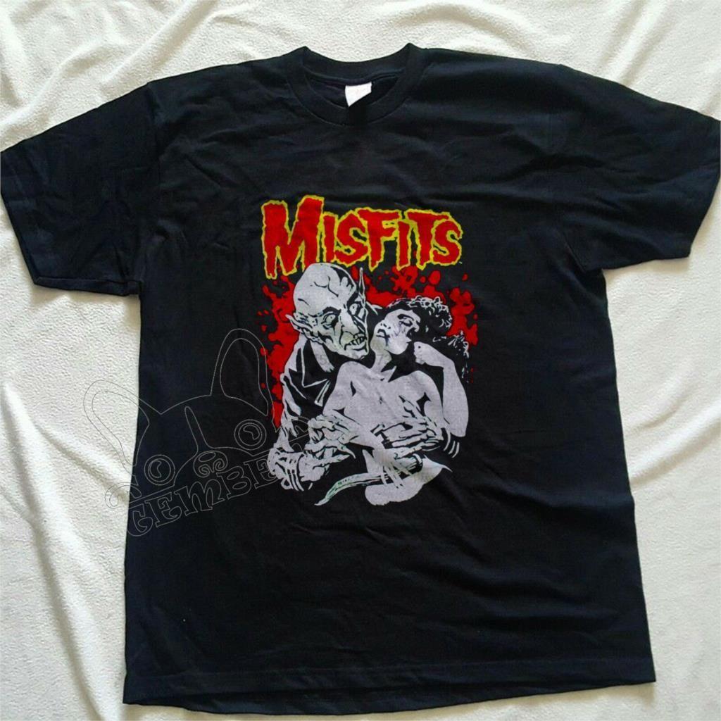Vintage 90s Jerry Only Doyle Punk Rock Misfits Fiend Club-Shirt Konzert Nachdruck