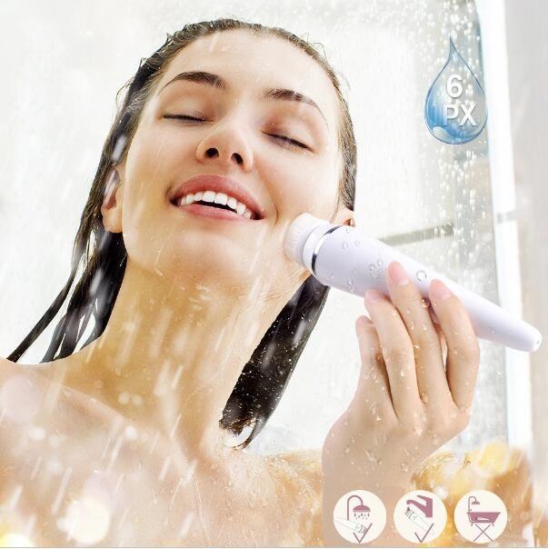 New Pore Cleaner spazzola per la cura della pelle elettrica per il viso, spazzola per la pulizia del viso, attrezzatura per la bellezza, migliore spazzola per il viso Spazzola per il lavaggio elettrico