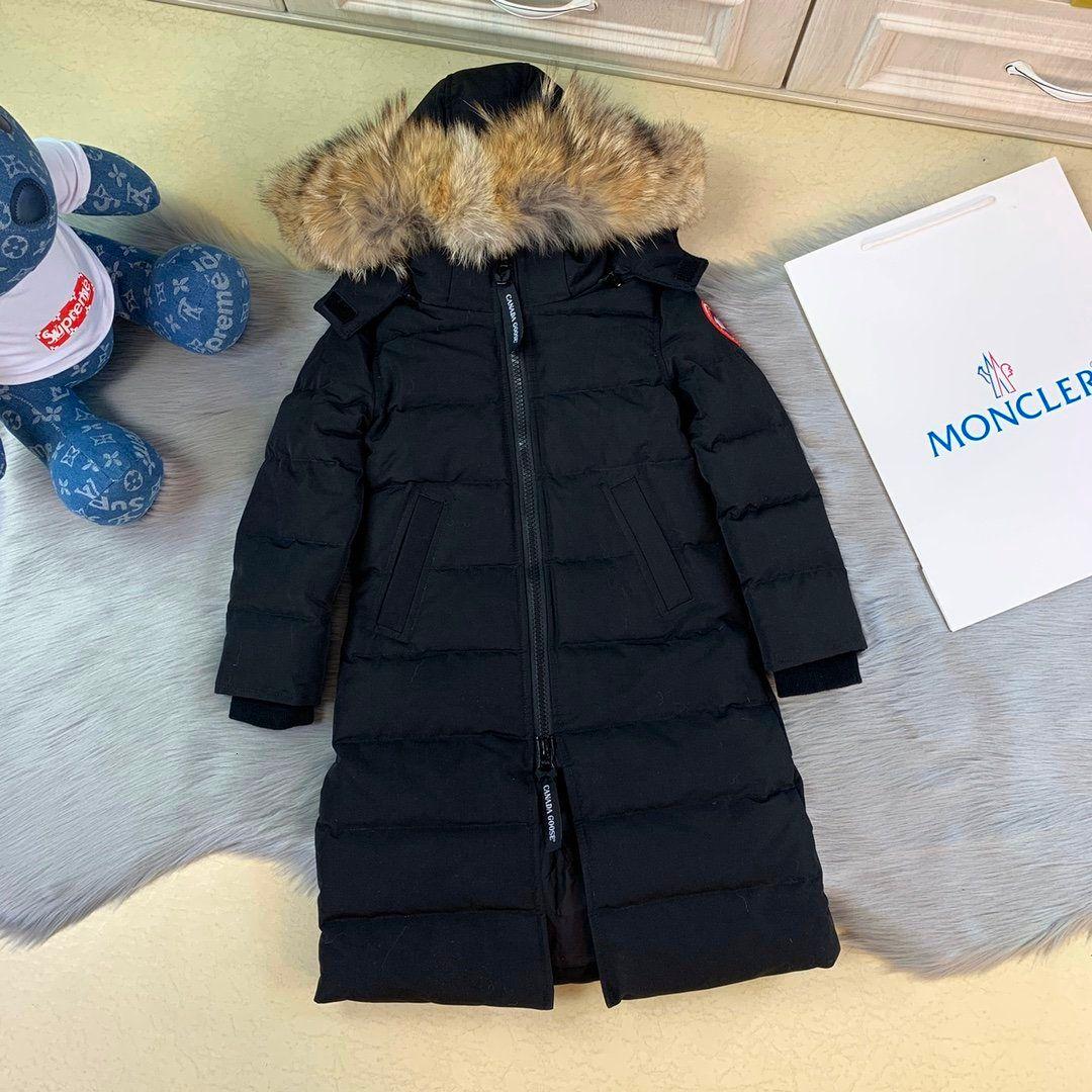Mädchen Daunenjacke hohe Qualität WSJ025 warme Windschutzscheibe # 112206 ming65