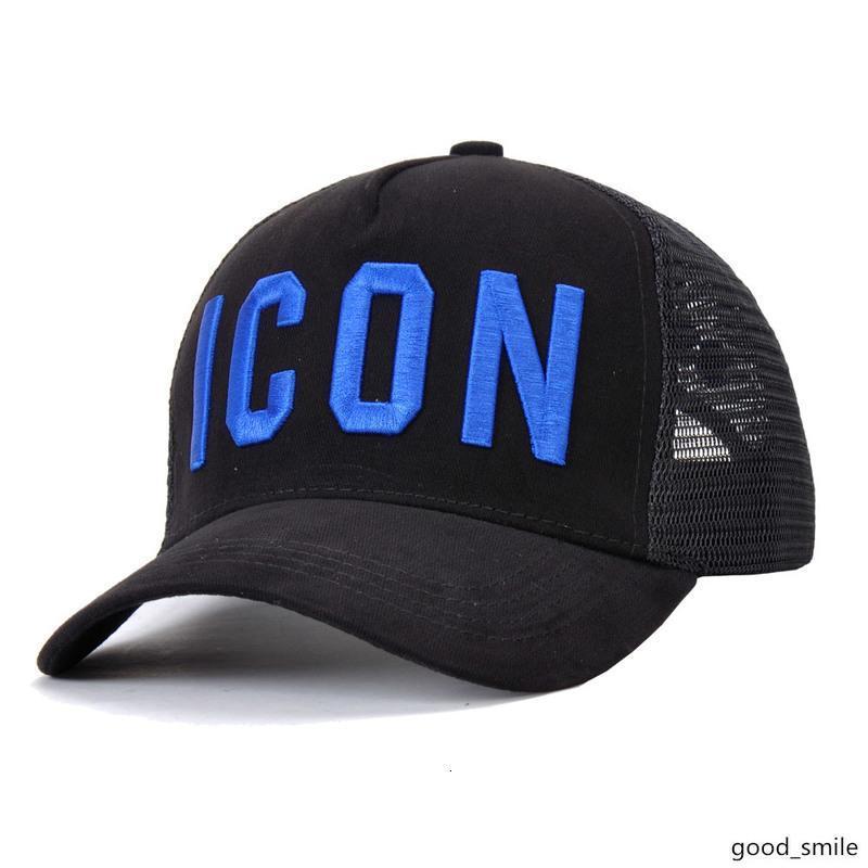 gorras de béisbol de los hombres de la marca premium d2 de los 5 paneles icono sombrero del sol al aire libre de la playa del turismo de malla sombrero del diseñador del snapback de las mujeres de lujo