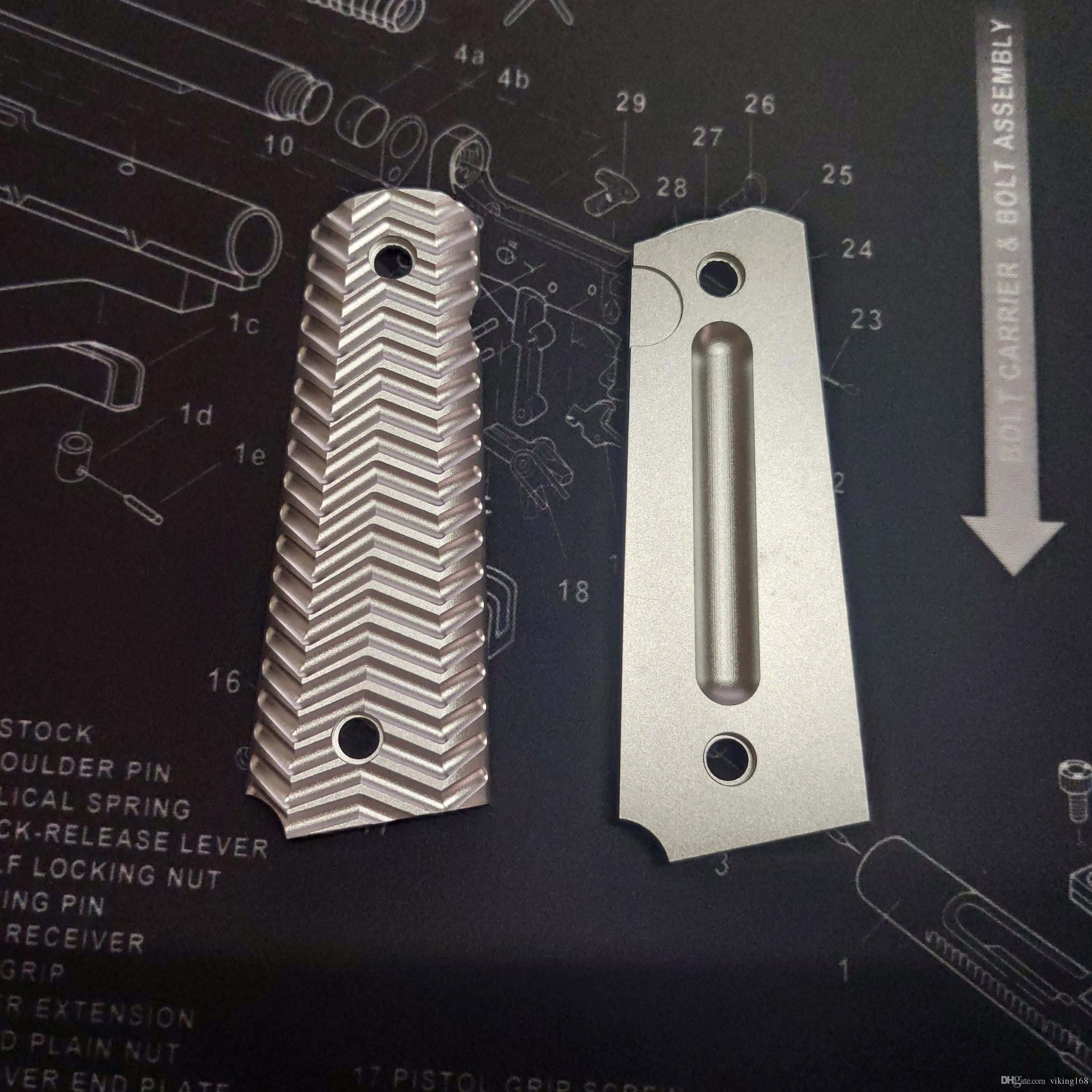 빠른 배송 1911 MEU 그립 커버 알루미늄 합금 CNC 전술 fullsize 만든 1911
