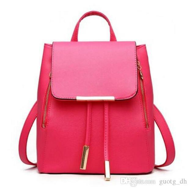 Sommermode Damen Einkaufstasche 2019 Neue PU Umhängetasche College Style Freizeit Out Travel Slant Bag