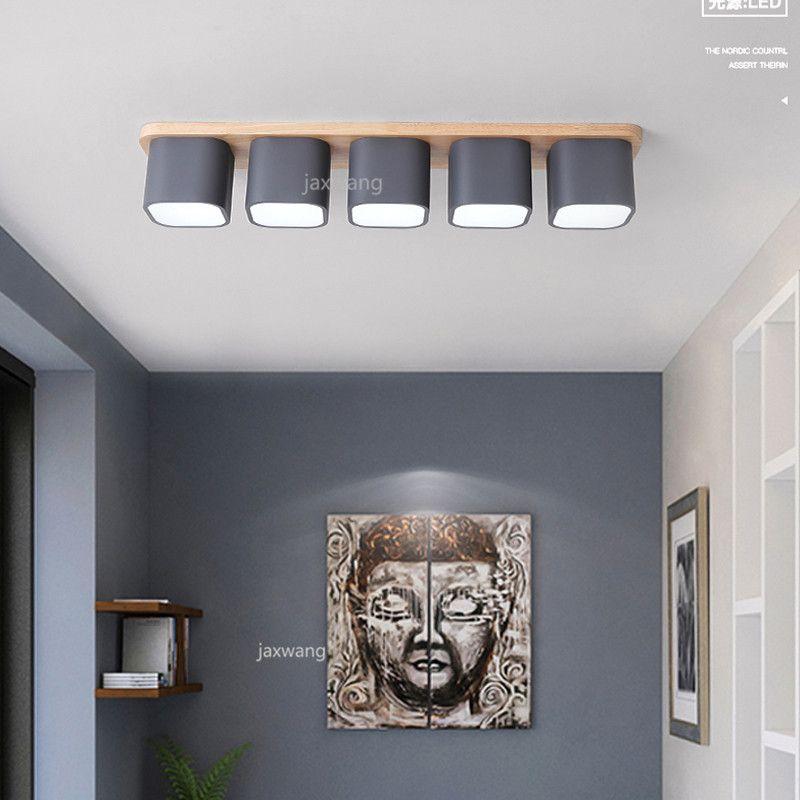 Ajustable LED de la lámpara de pared impermeable cubierta de superficie de pared de luz LED montado en la pared + Cubo lámparas de luz del pórtico acrílico Jardín