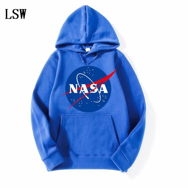 Самые новые толстовки Nasa толстовки модные пальто куртки толстовки с капюшоном толстовки для мужчин и женщин EL-4