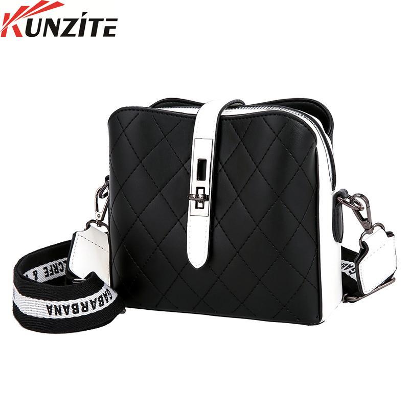 Kunzite Il Nuovo Elegante one-shoulder PU Leather bag per le signore delle donne borsa sleek minimalista Borsa A Tracolla Della