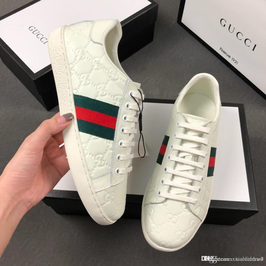 Mocassini sono dotati boxFlyline scarpe da corsa originali, 8908 Sport Skateboard Ones scarpe High Low Cut Bianco Nero formatori esterni Sneakers