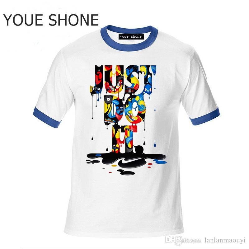 T-shirt da uomo fresche e comode Pullover in cotone Manica corta Top tees per uomo T-shirt polo casual Sport T-shirt