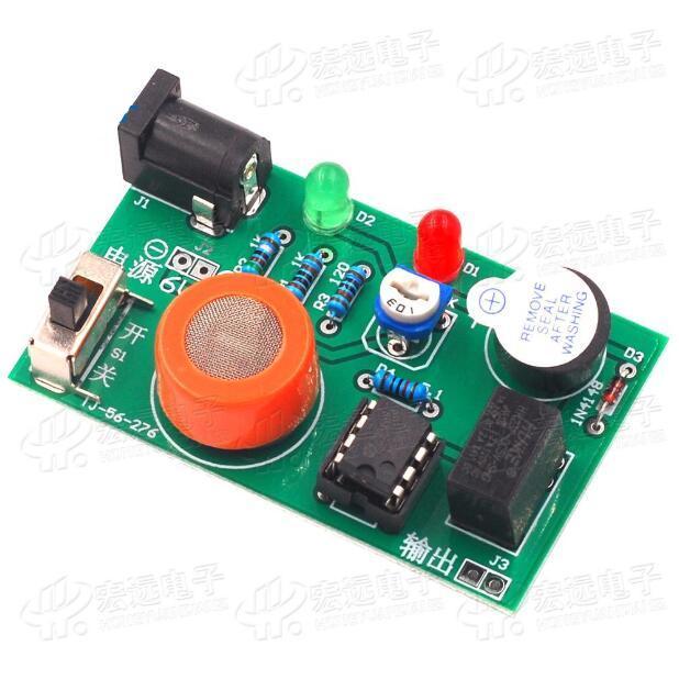 2pcs Kit de test Alcool / MQ-3 Module de testeur d'alcool / détecteur d'alcool MQ-3 (parties)