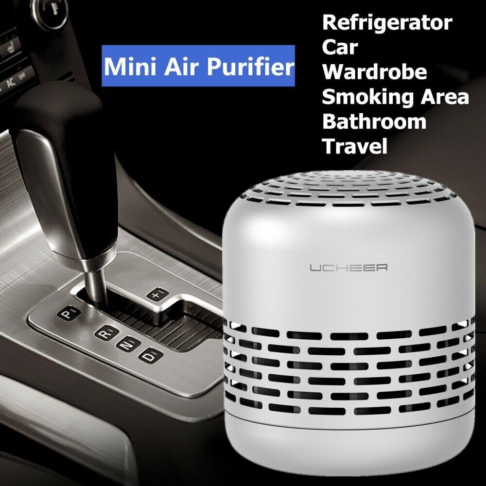 Portable Mini Air Purifier Filter Home Air Cleaner Odor Dust Smoke HEPA Filter