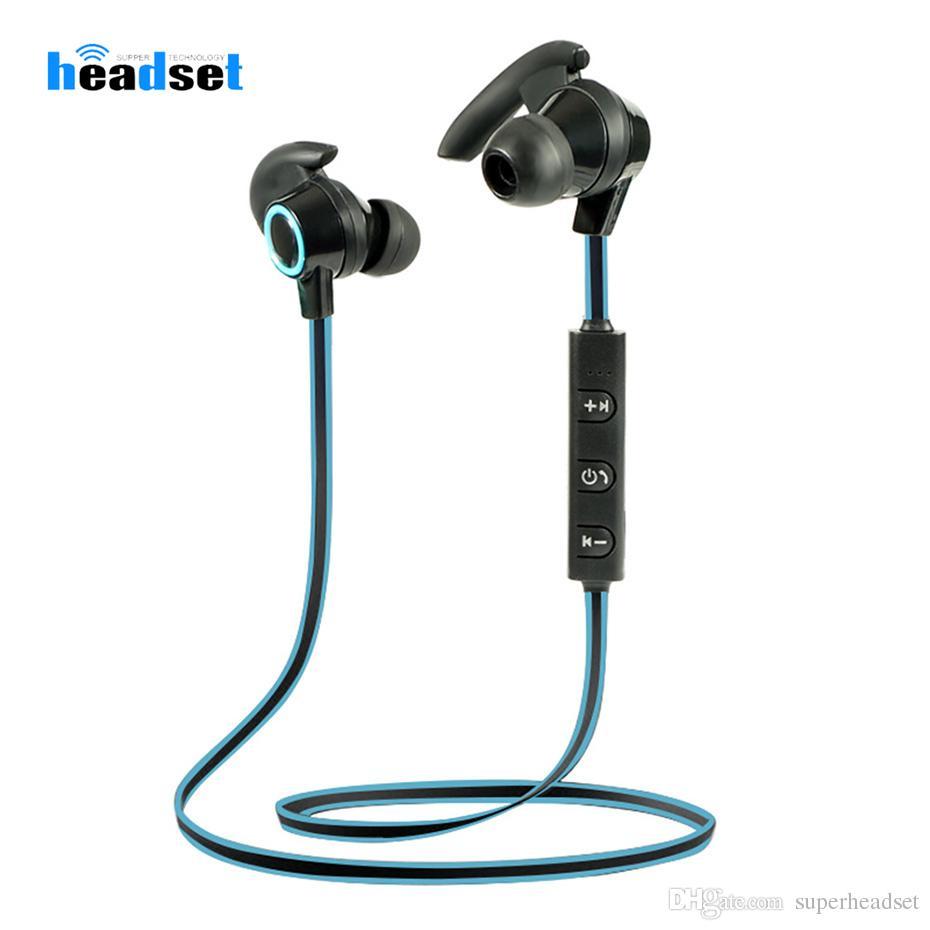 AMW-810 Спорт Bluetooth наушники Беспроводной Bluetooth V4. 1 наушники стерео гарнитура с микрофоном для Xiaomi Huawei iPhone