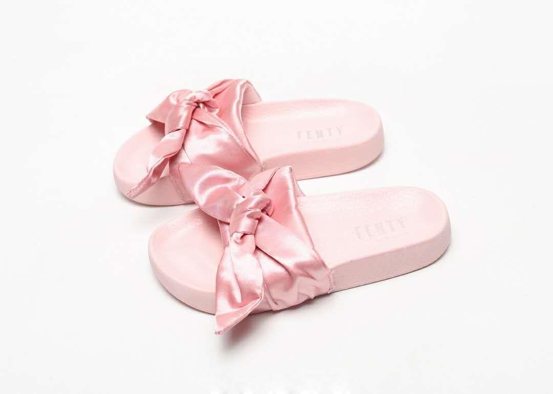 2019 Women Fenty Bandana Slide Pink