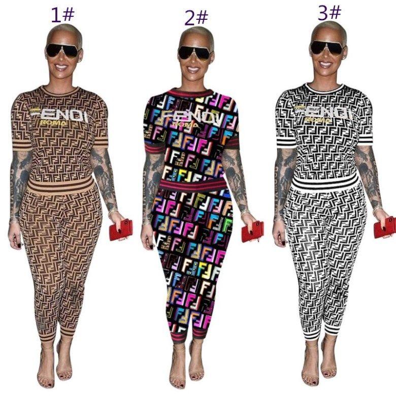 Damen Sportbekleidung kurze Ärmel Outfits 2-teiliges Set Trainingsanzug Jogging sportsuit Hoodie legging Sweatshirt Strumpfhosen Sportanzug kllw0849