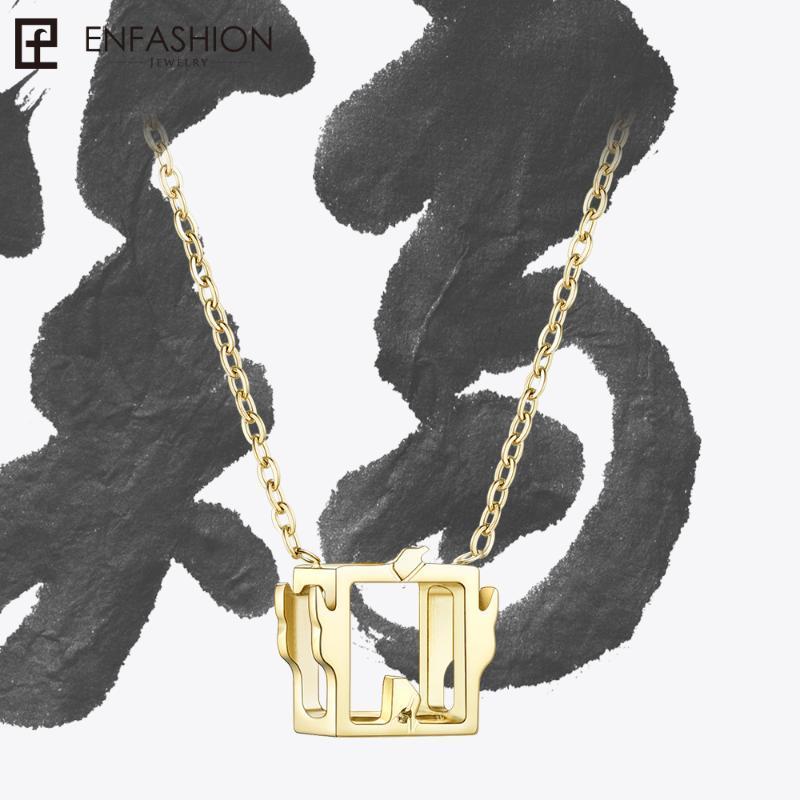Bayan Kolye Takı Collares mujer PFY183004-Horoz için Enfashion Çin Zodyak Horoz Kolye Tavuk kolye hediyeler