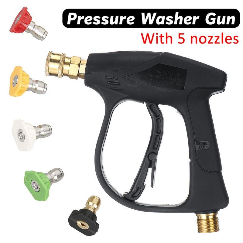 3000PSI ad alta pressione di collegamento Water Guns rapida Alimentatore da auto Pistole lavaggio a pressione del getto di acqua pulizia Attrezzi rondella dell'automobile