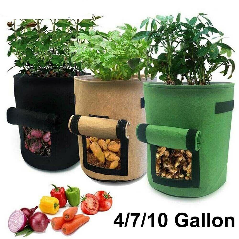 Plant Growth Bag Home Garden Potato Vegetable Planting Bag Moisturizing Seedling