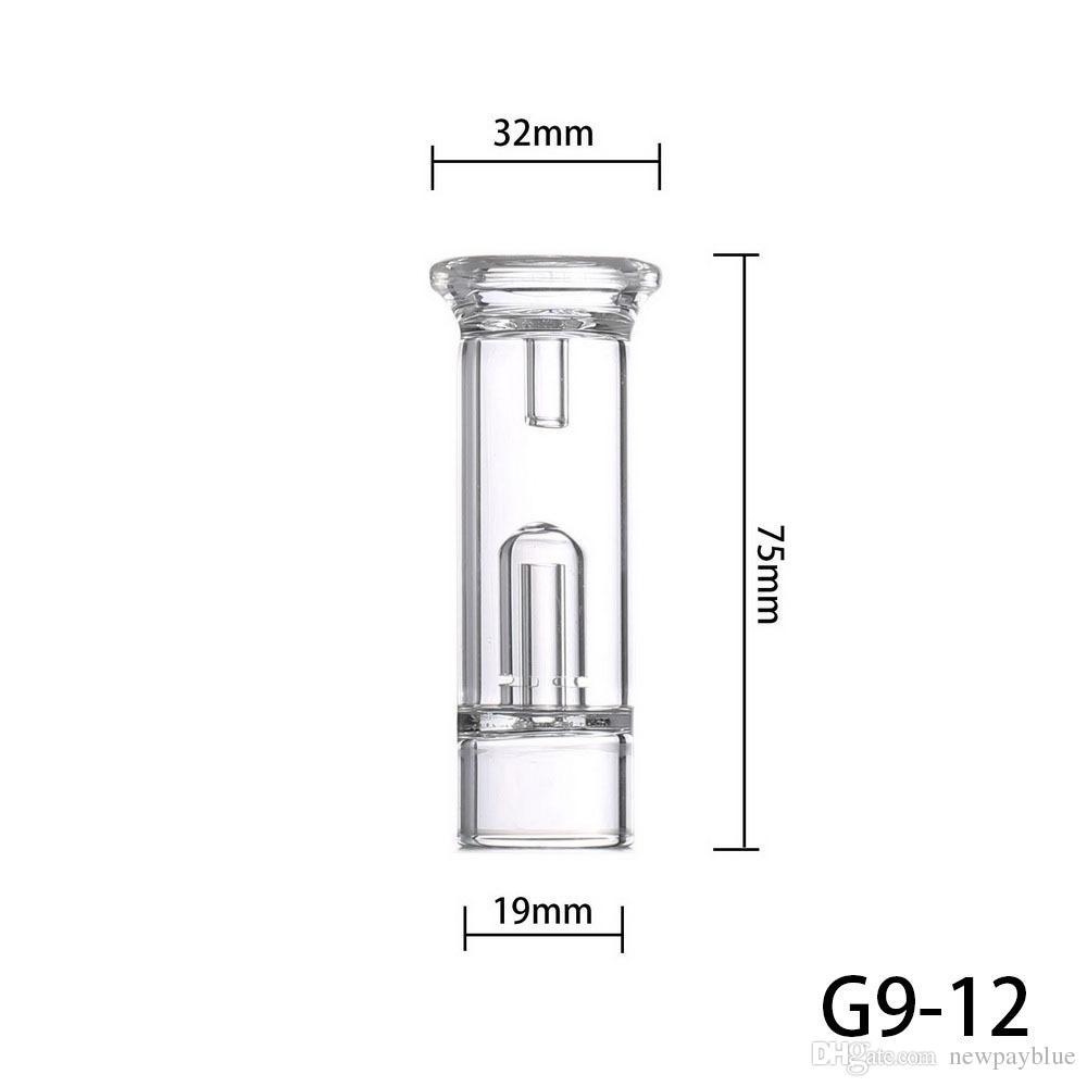 Greenlightvapes G9 Bolha de Água Filtro Dab Destacável Acessório De Vidro para GDIP Dip Caneta Vape Vaporizador Substituição de Cigarro Eletrônico