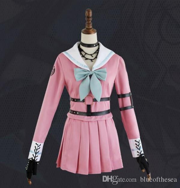 24aa436111 Cosplay Costume Danganronpa V3: Killing Harmony Iruma Miu Rabbit Uniform  Halloween Christmas Anime Custom Made Anime Boy Costume Halloween Anime ...