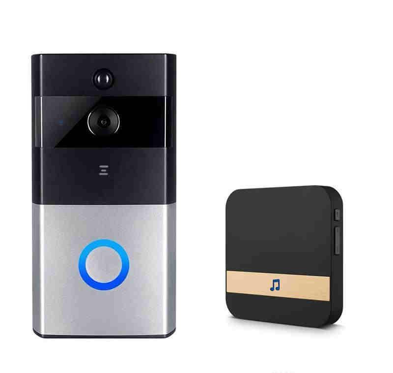 كاميرا 2020 الجديدة الذكية IP الاتصال الداخلي عبر الفيديو WIFI الفيديو باب الهاتف جرس الباب WIFI الجرس كاميرا للشقق IR إنذار لاسلكي الأمن