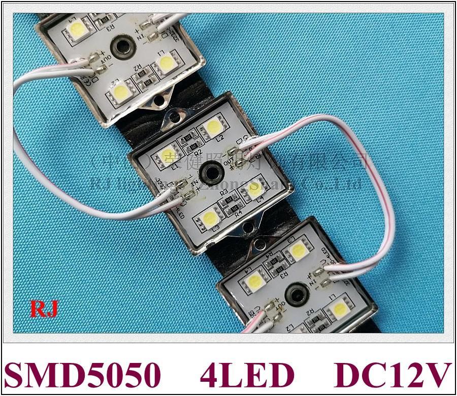 LED 광 모듈 (5050), LED 광 모듈 방수 조명 모듈 백라이트 DC12V 4 0.96W 주도 채널 용 편지