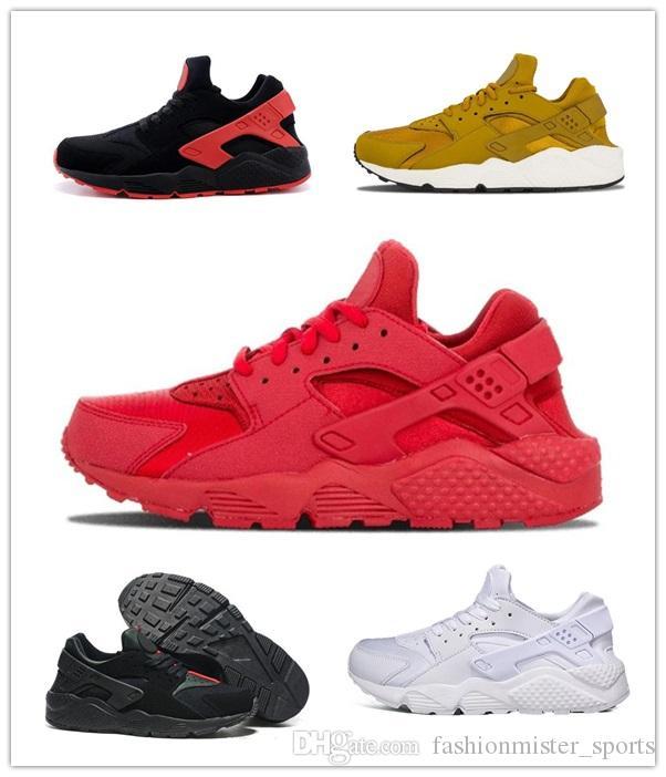 Nike Air Huarache Run 1 WHOLESALE 2020 nouvelle Air Huarache II 4 5 1 3 chaussures de course Huraches formateurs chaussures à l'extérieur Huaraches Kidsshoes amateurs Hurache GS11
