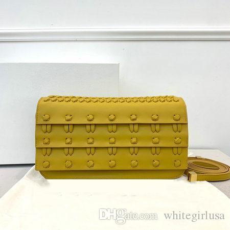 New style Shoelace knot designer crossbody messenger bags shoulder classic sheepskin Flip cover diagonal handbag Free shipping