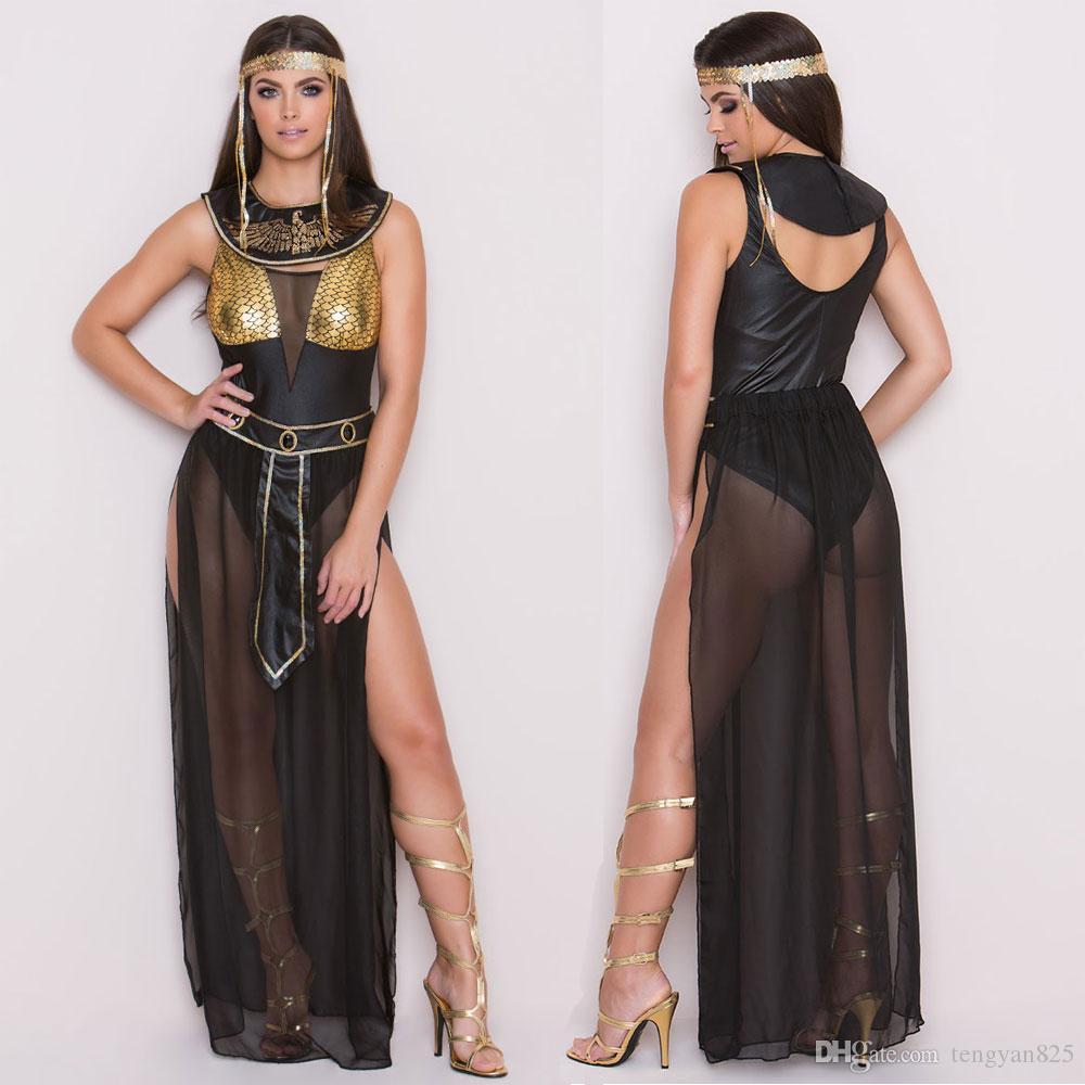 Сексуальная греческая богиня римские египетские дамы косплей хеллоуин маскарадный костюм M, XL 1153