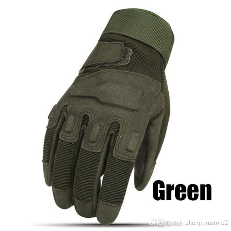 Hot Styles Fashion Outdoor Sports volle Finger-militärische taktische Airsoft Jagd einen.Kreislauf.durchmachenhandschuh volle Finger-Handschuhe Herren Bergsteigen Handschuhe
