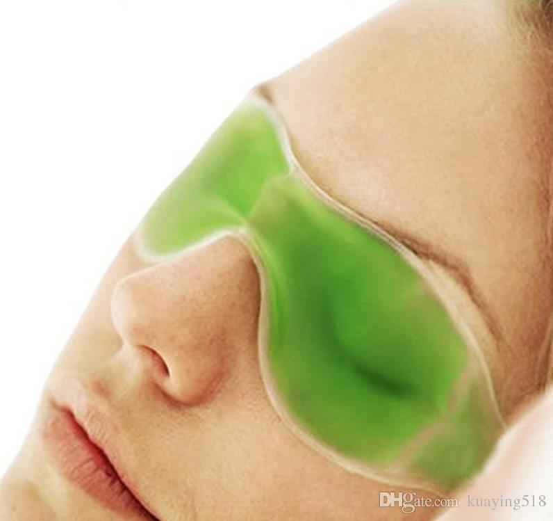 Misturar cores gelo olho Máscara Sombreamento Óculos de gelo de verão aliviar a fadiga ocular remover as olheiras gel de gelo olho máscaras de dormir