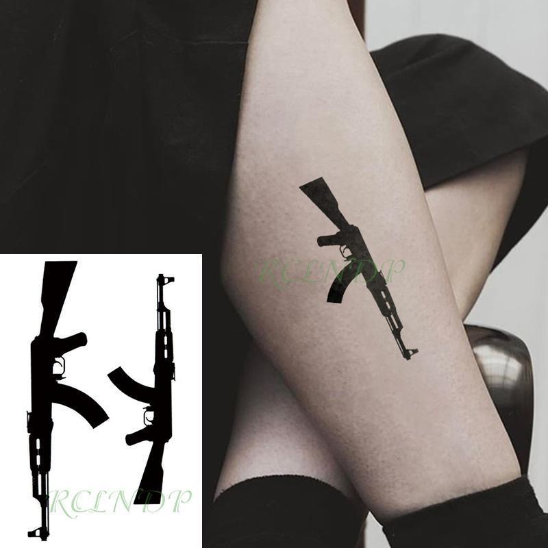 للماء المؤقتة الوشم ملصق الأسود رشاش TATTO فلاش الوشم وهمية الوشم للرجال النساء