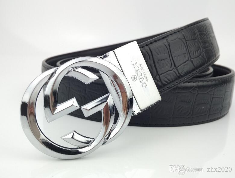 tendance de la personnalité de la ceinture des femmes version coréenne des femmes de ceinture à boucle lisse contractée ceinture multi-usages en gros