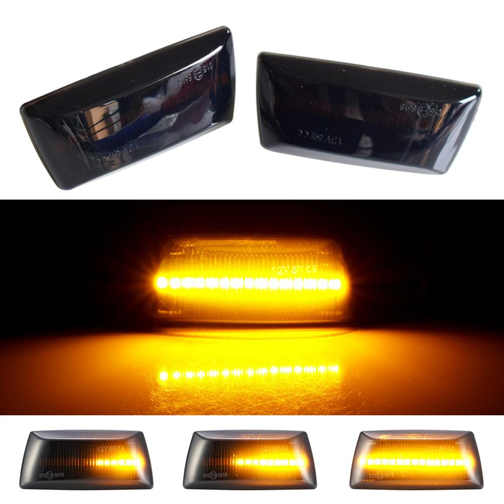 2Pcs Dynamic LED Car Side Marker Lights Repeater Signal Lights For Opel Insignia Astra H Zafira B Corsa D For Chevrolet Cruze Aveo