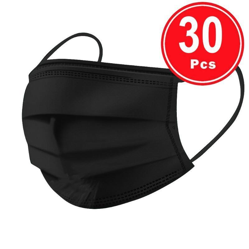 20/30/40/50 / 100pc Adulto desechables para la Protección de germen de mascarillas Maske cara Maskswashable y reutilizable mascarillas lavables Maske
