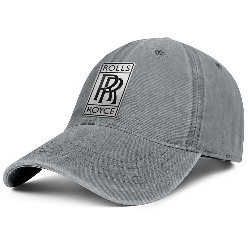 Unisex Bucket Cap Boy Sun Hat Bucket Hat Fishing Hat Rock Cap Flat-Brimmed Hat Rolls-Royce-Logo