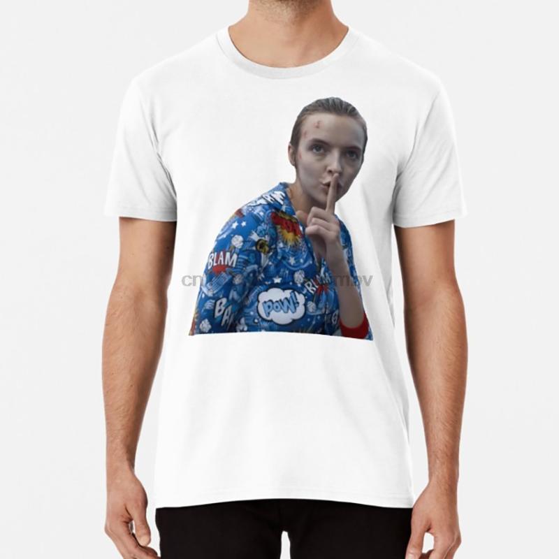T-shirts hommes Comer Sandra Oh tue Eve Jodie Villanelle T-shirt Polastri