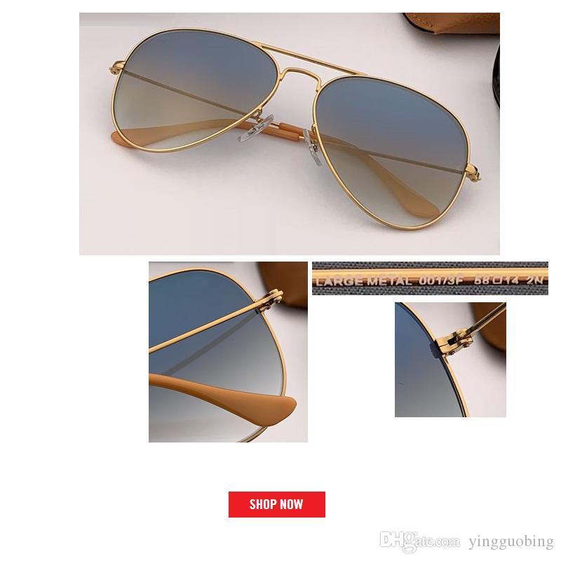 2019 старинные бренд дизайнер авиации классический солнцезащитные очки Женщины/мужчины очки уличный лучшее качество зеркало rd3025 óculos-де-Сол солнечные очки UV400 очки