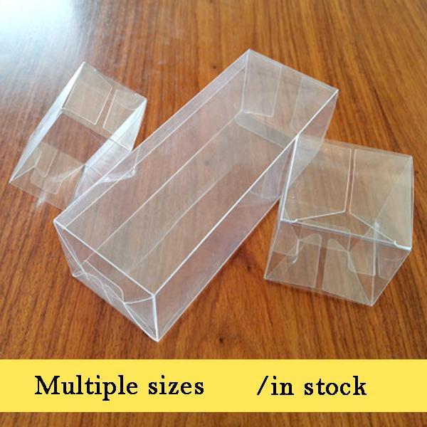 ücretsiz kargo Pvc Kutu Şeffaf Şeffaf Plastik Kutular Saklama Takı Hediye Kutusu Düğün / Noel / Şeker / Parti İçin Hediye Kutusu Paketleme