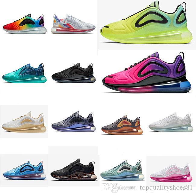 2019 Be True кроссовки северное сияние возврат назад горячая лава неоновая коллекция SunriseTrainers мужские женские дизайнерские кроссовки размер 36-45