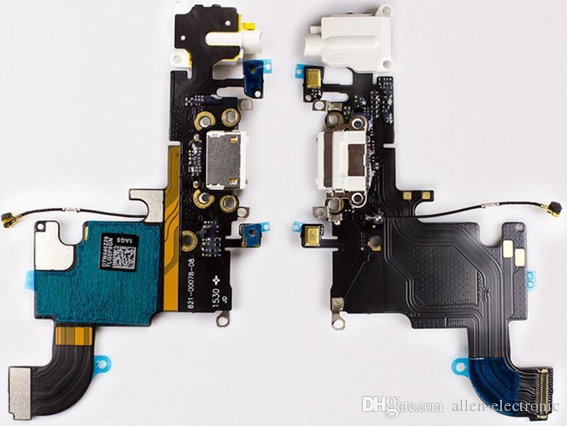 1 шт зарядка мобильного телефона гибкий кабель для Apple iPhone 6 6s Plus 6s 7P 8P USB зарядное устройство порт док разъем с микрофоном гибкий кабель +