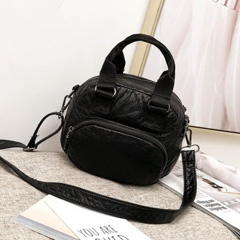 Donne Mini Bags 2019 epoca carino Piccolo borse dell'unità di elaborazione di Crossbody di cuoio dei sacchetti di frizione femminile Messenger Tote