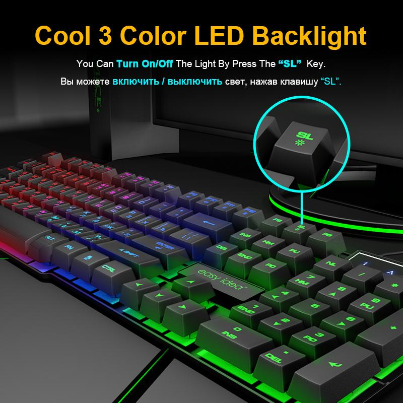 Color : Round Button Keyboard keycaps Keyboard Mechanical Imitation Keyboard Gaming RGB Keyboard with Backlit Keyboard 104 Keycaps