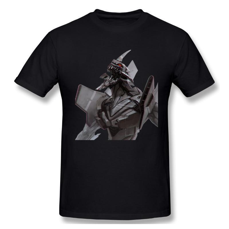 Unidade 01 T Casual shirt Vestuário Hot Sale evangelion camiseta 100% algodão O pescoço t-shirt novo design Slim Fit topo