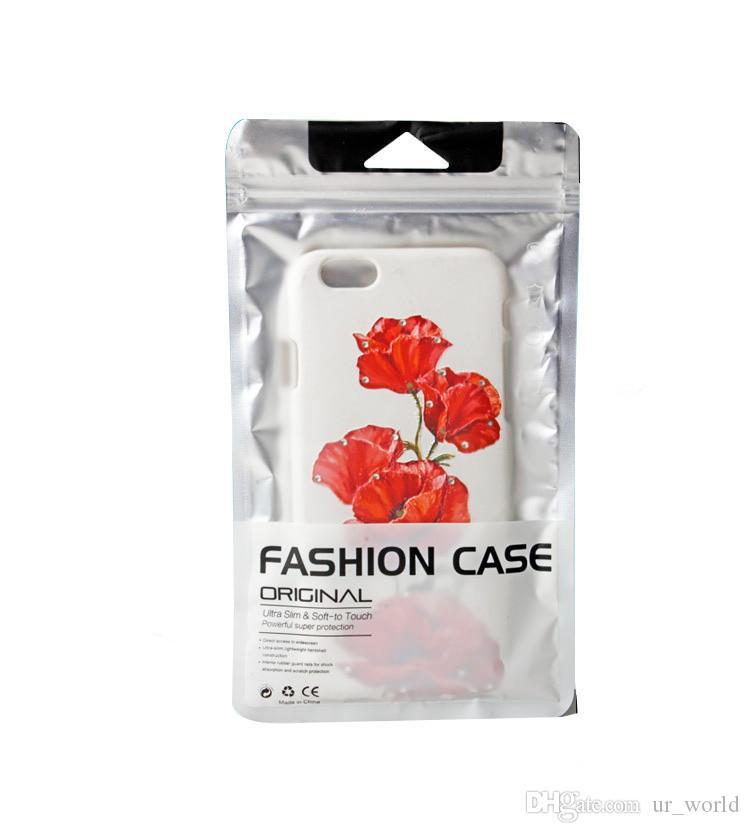 Пластиковая сумка на молнии Аксессуары для сотовых телефонов Чехол для мобильного телефона Упаковочный пакет Сумка для XIAOMI REDMI Note7 Чехол
