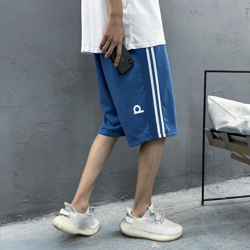adidas ADIDAS nike العلامة التجارية الكلاسيكية ذات جودة عالية ثلاثي الأبعاد طباعة عالية تمتد السراويل القطن سلس سستة الرجال السراويل الركض السراويل
