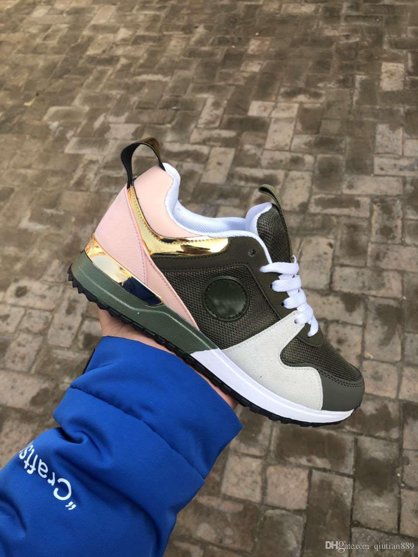 2019 Nouvelle arrivée Sneakers Chaussures Femme Robe de luxe de Formateurs Femmes Top qualité Sports Chaussures Casual