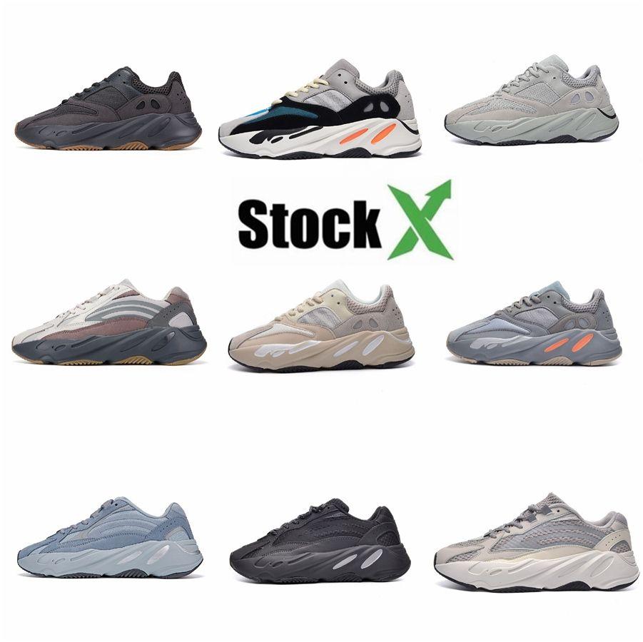 New Kanye West 700 homens calçados casuais Dad Super Ins Dad Vintage Luz respirável Masculino Zapatillas Hombre Tenis Masculino T03 # QA469