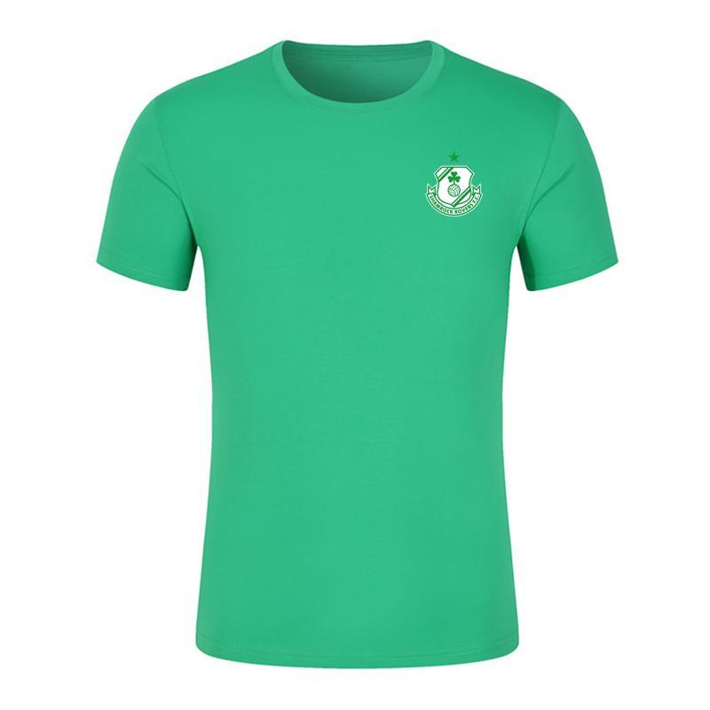 2020 Irlanda Rovers Shamrock FC Calcio T-shirt maglie di calcio 2020 2021 Rovers FC Shamrock maniche corte da calcio T-shirt Fans Top Tees