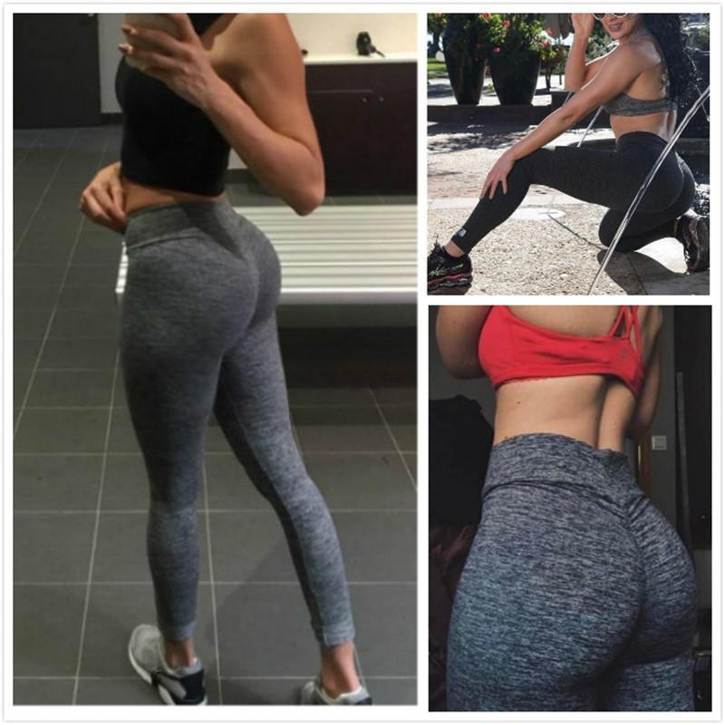 Yeni Stil Yüksek Bel Tayt Kadınlar Seksi Kalça Push Up Pantolon Legging Jegging Gotik Leggins Jeggings Legins Sonbahar Kış