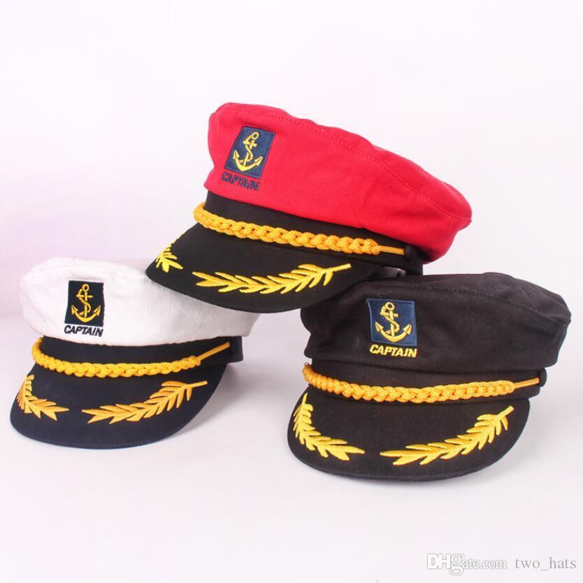 Bleu Marine Casquette,Casquette Baseball,Capitaine Capuchon,Bonnet,Capitaine,,