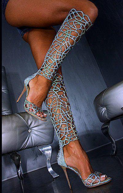 Moraima snc 2019 neue frau sexy mode sommer lange hohl stiefel super dünne fersen dame laser aushöhlen stiletto sandal stiefel