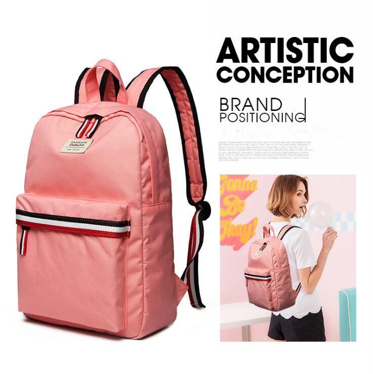 Women Backpack Fashion Nylon Waterproof Rucksack Laptop Backpack SchoolBags For Teenage Girls Boys Travel Bag